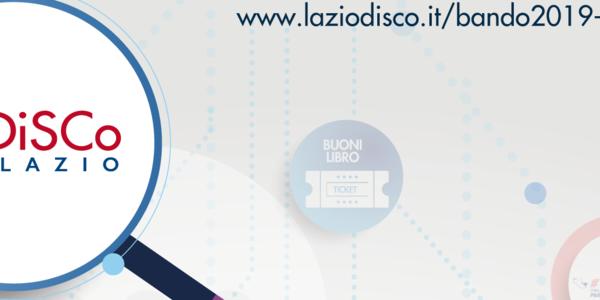Bando Disco Lazio 2019-2020(borse,premi,alloggi)