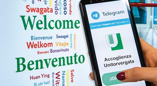 Tor Vergata su Telegram